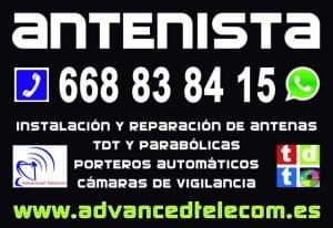 Técnico Antenista Homologado y Barato en Toledo y Madrid Sur